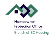 Homeowner Protection Office - Branch of BC Housing logo